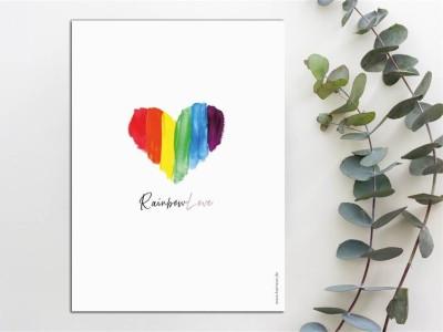 """Mutterpass Hülle """"Rainbow"""" - 2"""