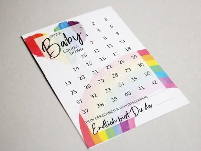 "Baby-Countdown ""Rainbow"" - 2"