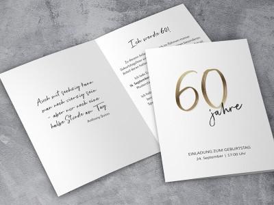 Einladung Geburtstag - 1
