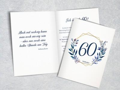 "Einladung Geburtstag ""Elegance"""