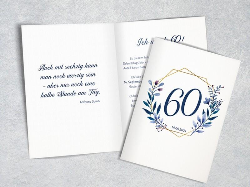 "Einladung Geburtstag ""Elegance"" - 1"