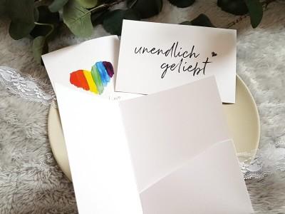"""Erinnerungsmappe Ultraschallbilder """"Rainbow"""" - 3"""