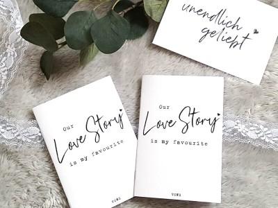 """2x Eheversprechen """"Love Story"""" - 1"""