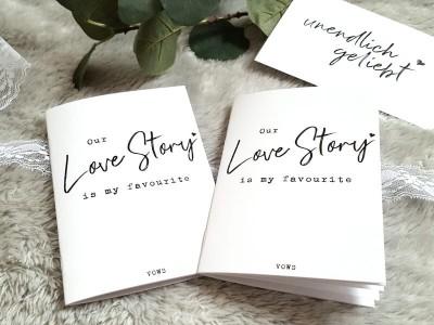 """2x Eheversprechen """"Love Story"""" - 2"""