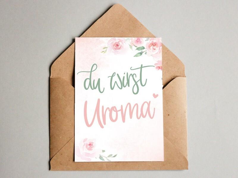 """Karte """"Uroma"""" Blurry Dream - 1"""