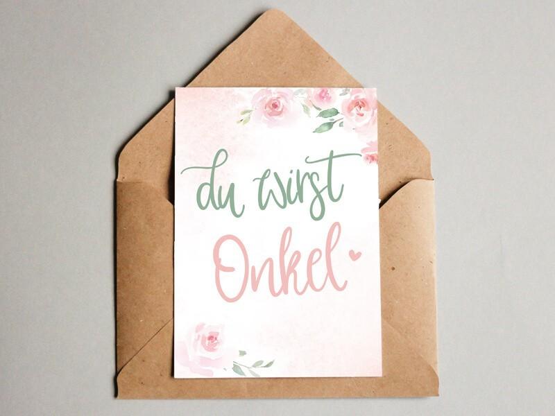 "Karte ""Onkel"" Blurry Dream - 1"