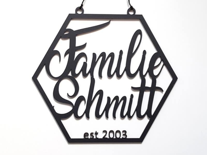 Familienschild - 1