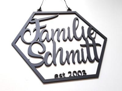 Familienschild - 3
