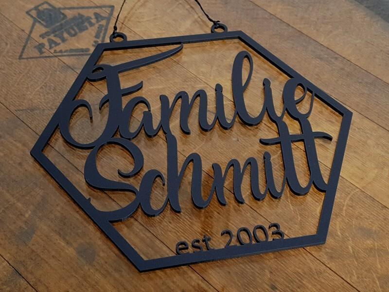 Familienschild - 2