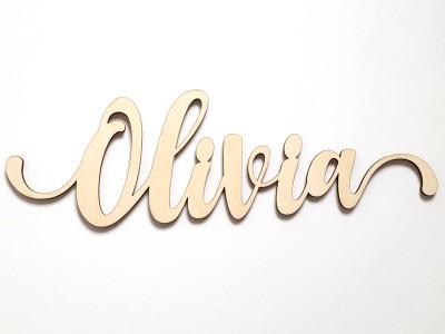"""Schriftzug """"Clara"""" - 4"""