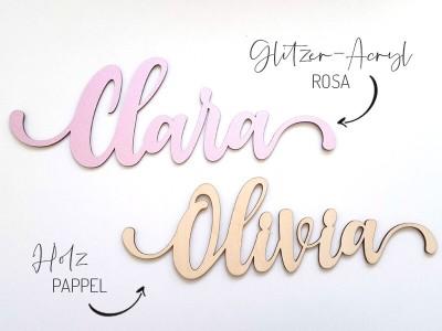 """Schriftzug """"Clara"""" - 3"""