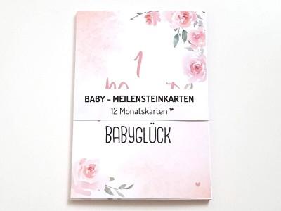 """12 Baby Meilensteinkarten """"Blurry Dream"""" - 2"""