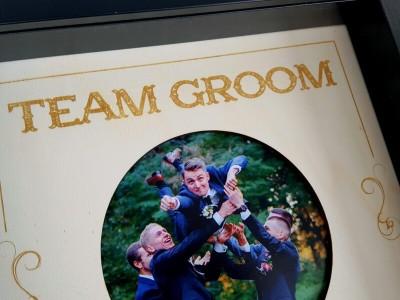 """Rahmen """"Team Groom"""" - 2"""