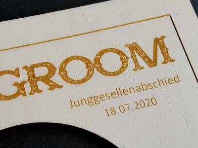 """Rahmen """"Team Groom"""" - 4"""