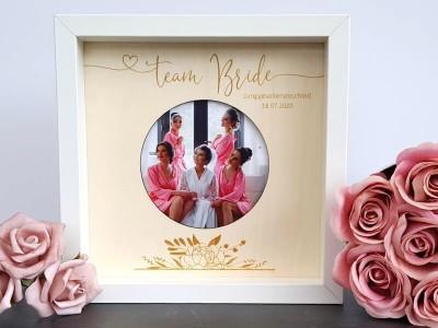 """Rahmen """"Team Bride"""" - 1"""