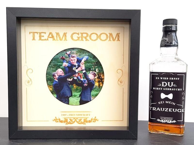 """Rahmen """"Team Groom"""" - 1"""