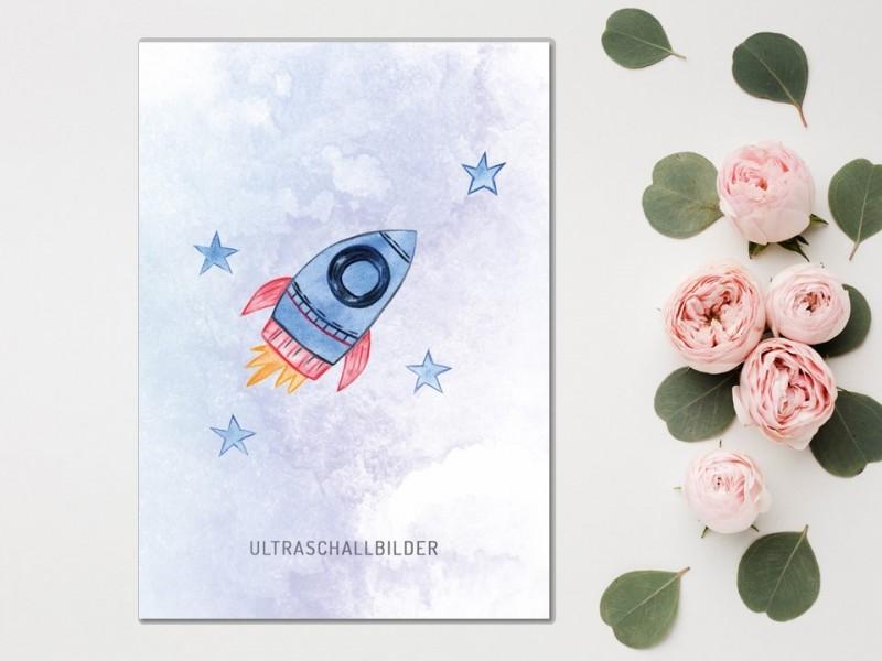 "Erinnerungsmappe Ultraschallbilder ""Rocket"" - 1"