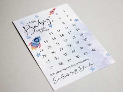 "Baby-Countdown ""Rocket"" - 2"