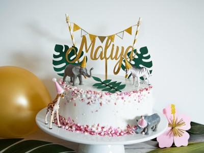 "Cake Topper ""Maliya"" - 2"