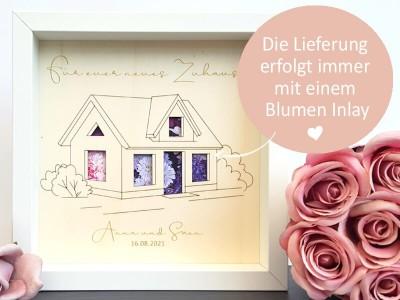 """Geldgeschenk Rahmen """"Zuhause"""" - 3"""