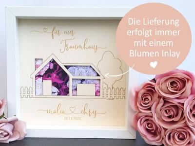 """Geldgeschenk Rahmen """"Traumhaus"""" - 3"""