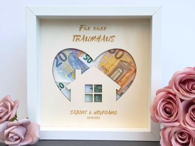 """Geldgeschenk Rahmen """"Eigenheim"""" - 1"""
