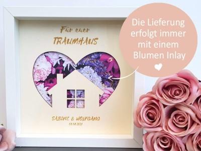 """Geldgeschenk Rahmen """"Eigenheim"""" - 3"""