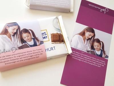 """XL Ritter-Sport Schokoladenbanderole """"Kindergarten Abschied"""" - 3"""