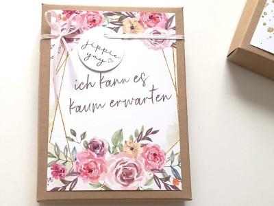 """Geschenkschachtel """"Schwangerschaft"""" Bouquet - 1"""