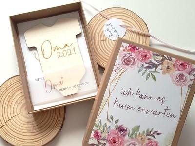 """Geschenkschachtel """"Schwangerschaft"""" Bouquet - 3"""