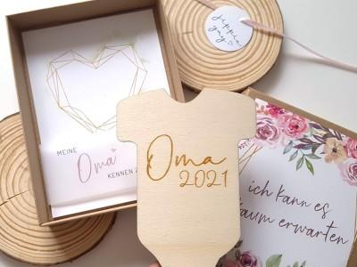 """Geschenkschachtel """"Schwangerschaft"""" Bouquet - 4"""
