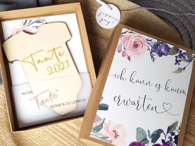 """Geschenkschachtel """"Schwangerschaft"""" Blossom - 2"""