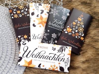 Schokoladenbanderolen Weihnachtsset - 2
