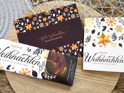 Schokoladenbanderolen Weihnachtsset - 3