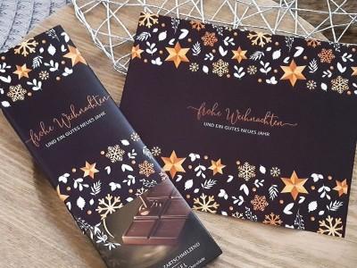 Schokoladenbanderolen Weihnachtsset - 4