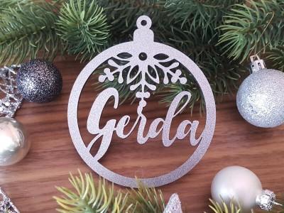 """Weihnachtskugel """"Gerda"""" - 1"""