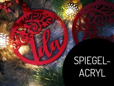 """Weihnachtskugel """"Swirl"""" - 3"""