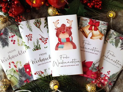 Schokoladenbanderolen Weihnachtsset - 1