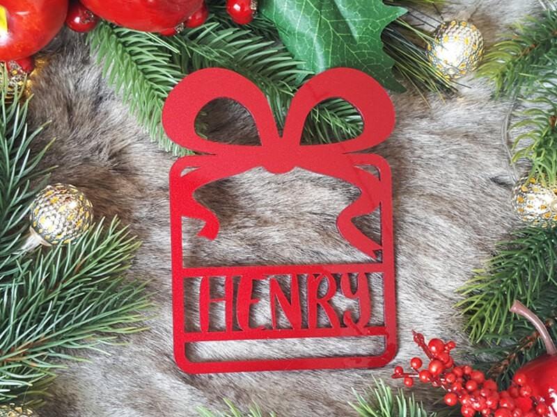 """Weihnachtskugel """"Geschenk"""" - 1"""