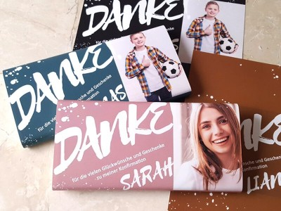 "Schokoladenbanderole ""Sarah"" - 2"
