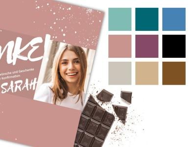 "Schokoladenbanderole ""Sarah"" - 5"