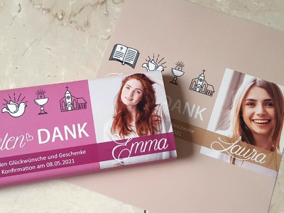 "Schokoladenbanderole ""Emma"" - 3"
