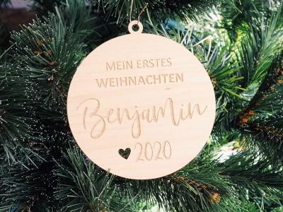 """Baumanhänger """"Benjamin"""" - 1"""