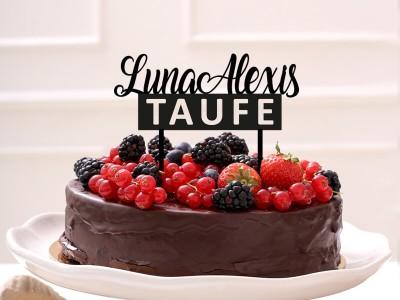 """Cake Topper """"Luna"""" - 1"""