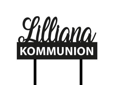 """Cake Topper """"Lilliana"""" - 2"""