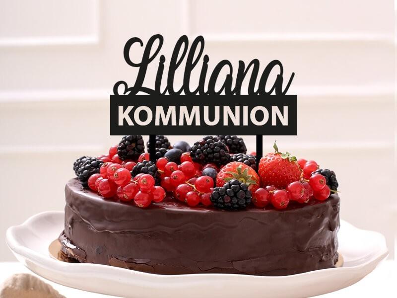 """Cake Topper """"Lilliana"""" - 1"""