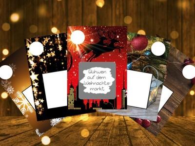 """Rubbelkarten Adventskalender """"Reindeer"""" - 2"""