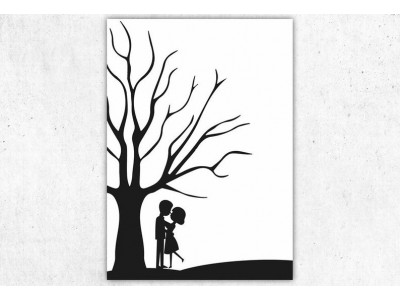 personalisierter Weddingtree - 3