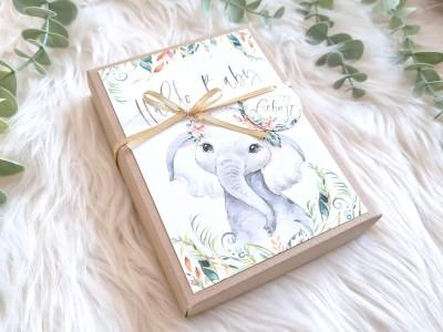 """Geldgeschenk Geburt """"Elefant"""" Mädchen - 2"""