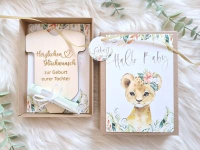 """Geldgeschenk Geburt """"Löwe"""" Mädchen - 3"""
